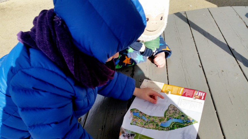 mappa dello zoo di Dublino